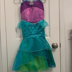 Disney little mermaid costume size 5/6